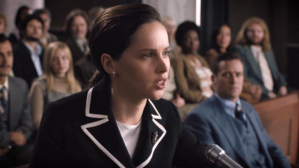 Trailer 'On The Basis of Sex' met Felicity Jones