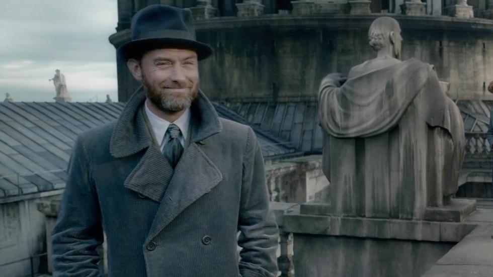 Jude Law reageert op kritiek 'Fantastic Beasts: The Crimes of Grindelwald'