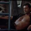 Gigantisch groot Jeff Goldblum beeld in hartje Londen
