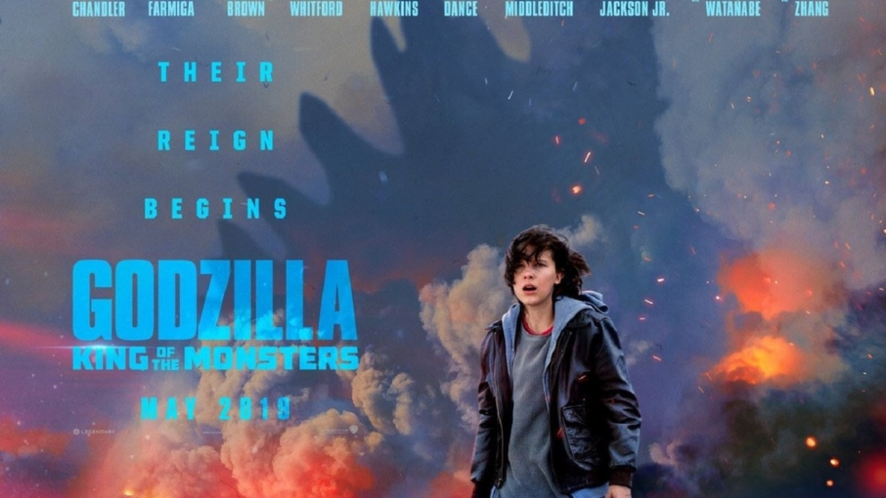 Teaser en poster 'Godzilla: King of the Monsters'!