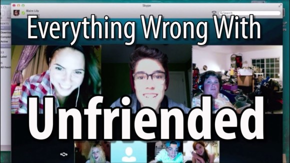 CinemaSins - Everything wrong with unfriended in 13 minutes or less