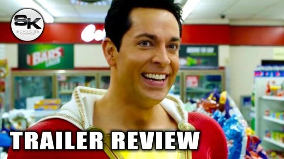 Schmoes Knows - Shazam trailer review - sdcc 2018