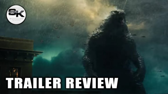 Schmoes Knows - Godzilla 2 trailer review - sdcc 2018