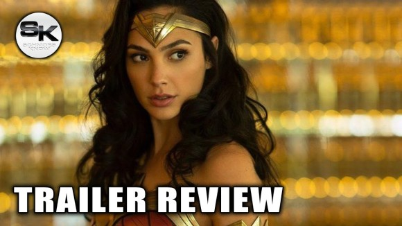 Schmoes Knows - Wonder woman exclusive footage review - sdcc 2018