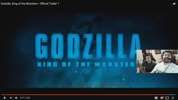 AngryJoeShow - Godzilla: king of the monsters - angry trailer reaction!