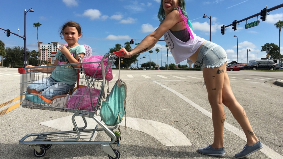 Blu-ray review 'The Florida Project' - niet alles is Disney
