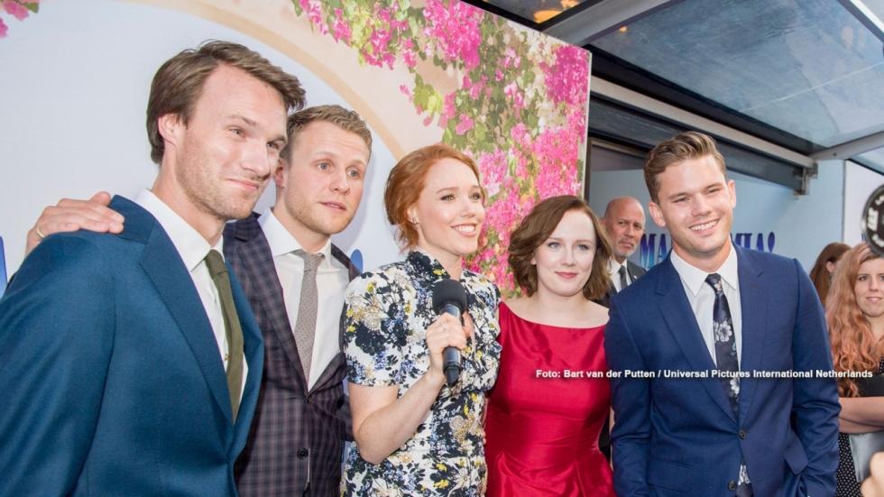 Vijf acteurs over Mamma Mia! Here We Go Again