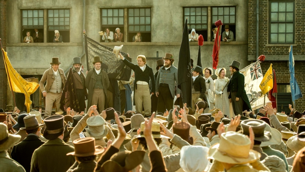Oproer en een bloedbad in 'Peterloo' trailer
