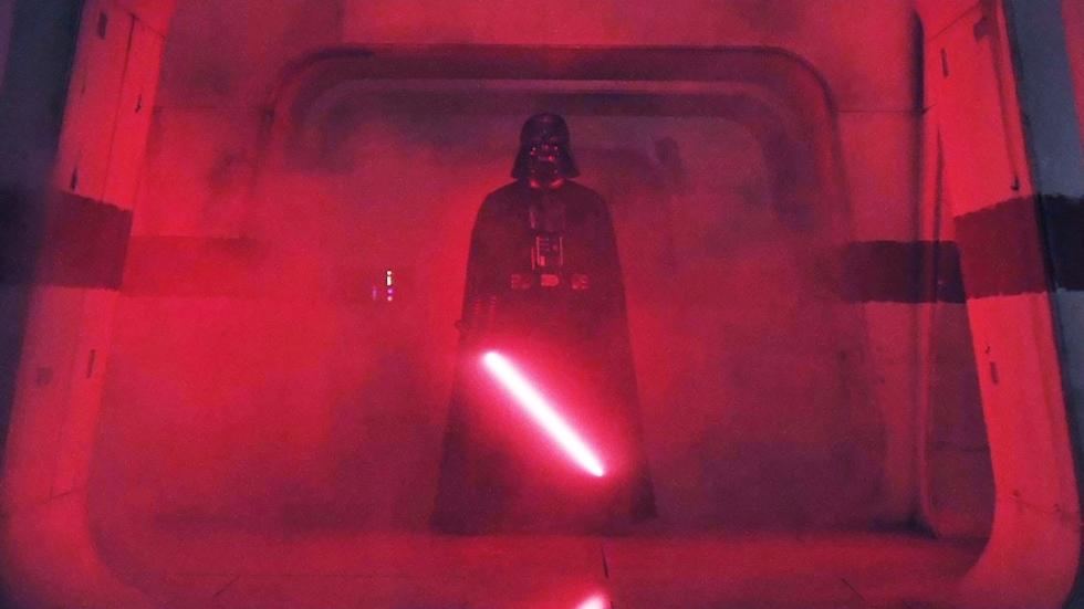 Darth Vader had heel andere rol in 'Rogue One'