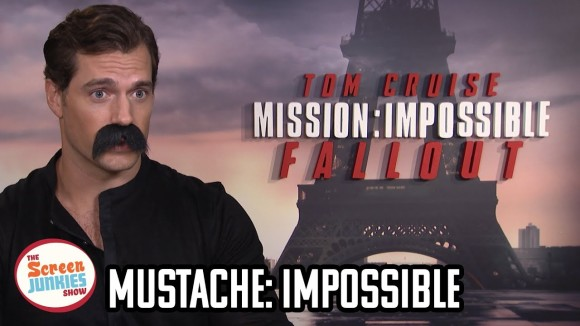 ScreenJunkies - We mustache henry cavill some mission: impossible questions