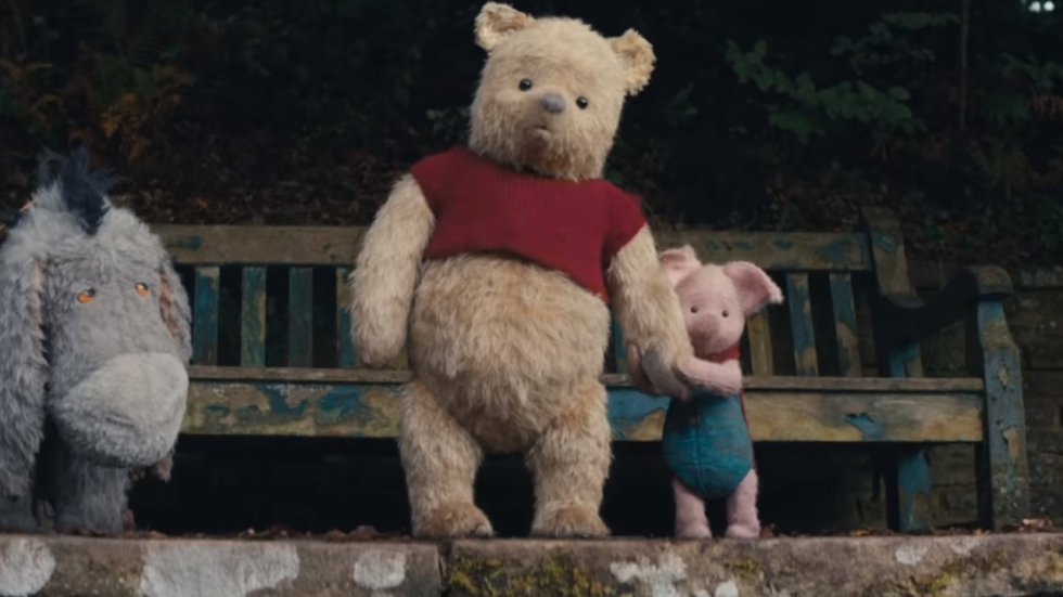 Prachtige sneak peek 'Christopher Robin'!