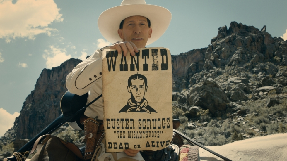 'The Balllad of Buster Scruggs', nieuwe western Coens, is toch film