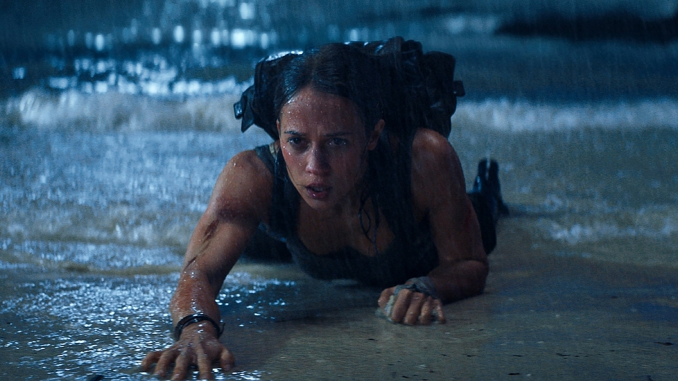 Blu-ray review 'Tomb Raider' - Alicia Vikander in de huid van Lara Croft