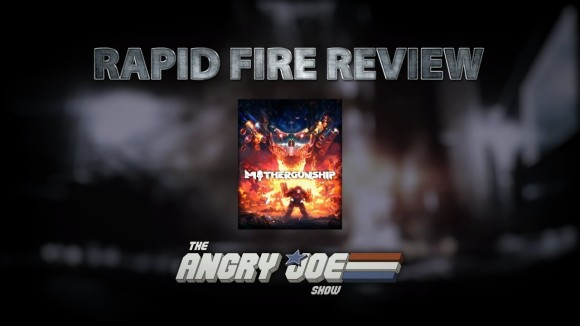 AngryJoeShow - Mothergunship rapid fire review