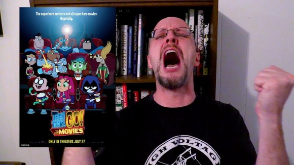 Channel Awesome - Teen titans go! to the movies - doug reviews