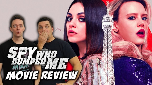 Schmoes Knows - The spy who dumped me movie review