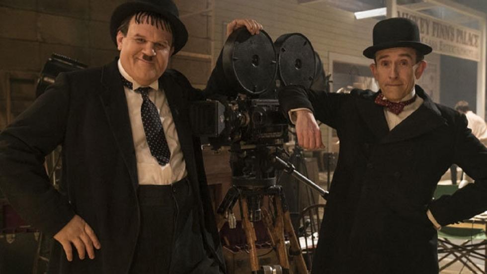 Eerste foto Laurel en Hardy-biopic 'Stan & Ollie'