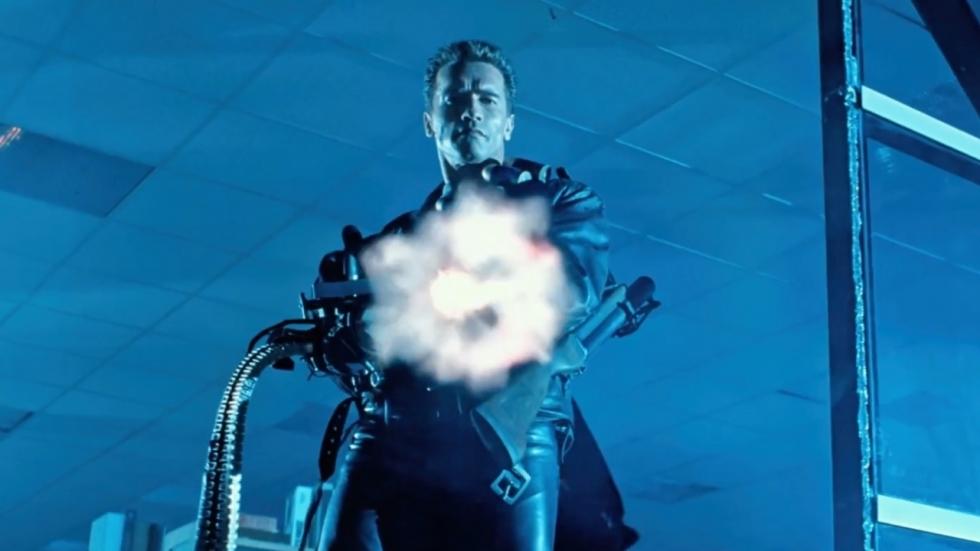 Arnie als bebaarde T-800 in nieuwe 'Terminator 3'?