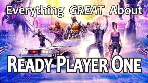 CinemaWins - Everything great about ready player one!