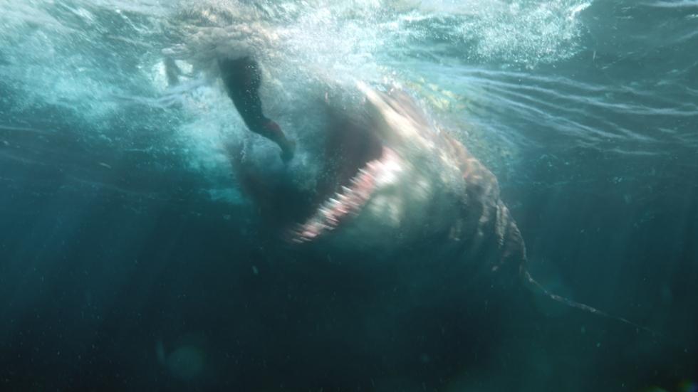 'The Meg' bijt van zich af en flopt toch niet!