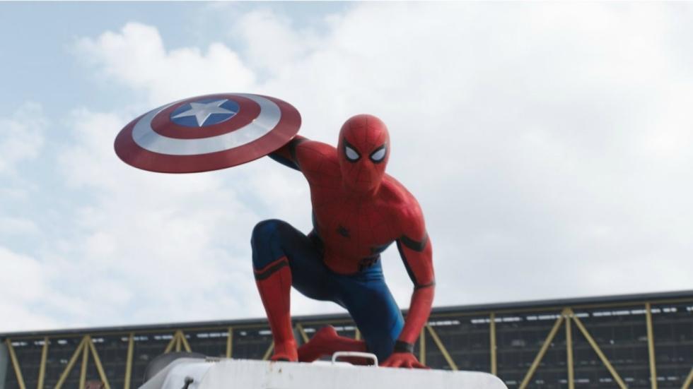 Gigantische golf op set 'Spider-Man: Far From Home'