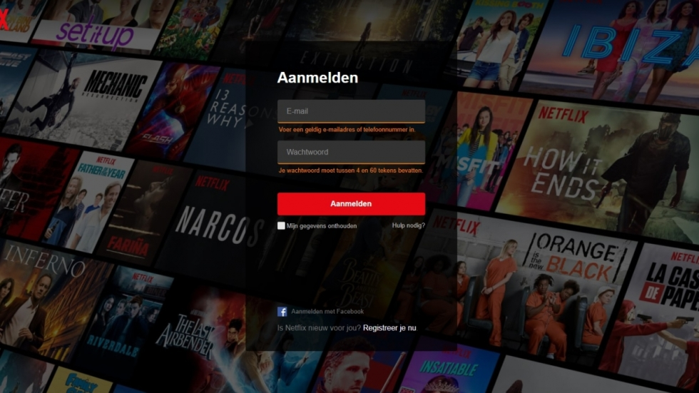 POLL: Deel jij jouw Netflix wachtwoord?
