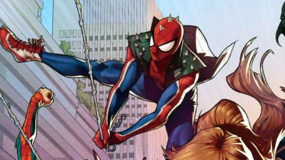 Ook Spider-Punk komt naar 'The Spider-Verse'