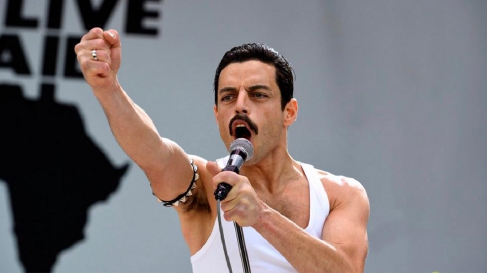 Rami Malek rockt als Freddie Mercury op nieuwe foto's 'Bohemian Rhapsody'