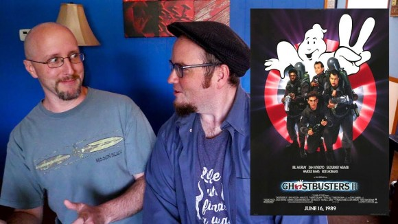 Channel Awesome - Nostalgia critic real thoughts on ghostbusters 2