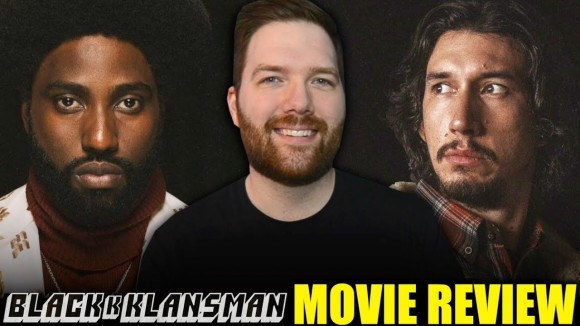 Chris Stuckmann - Blackkklansman - movie review
