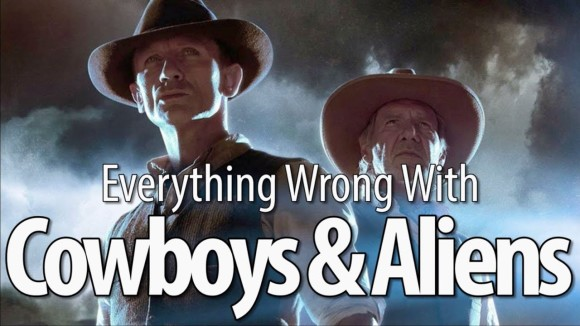 CinemaSins - Everything wrong with cowboys & aliens in 17 minutes or less