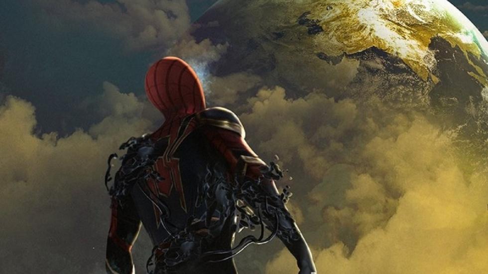 Setfoto 'Spider-Man: Far From Home' met hoofdrolspelers