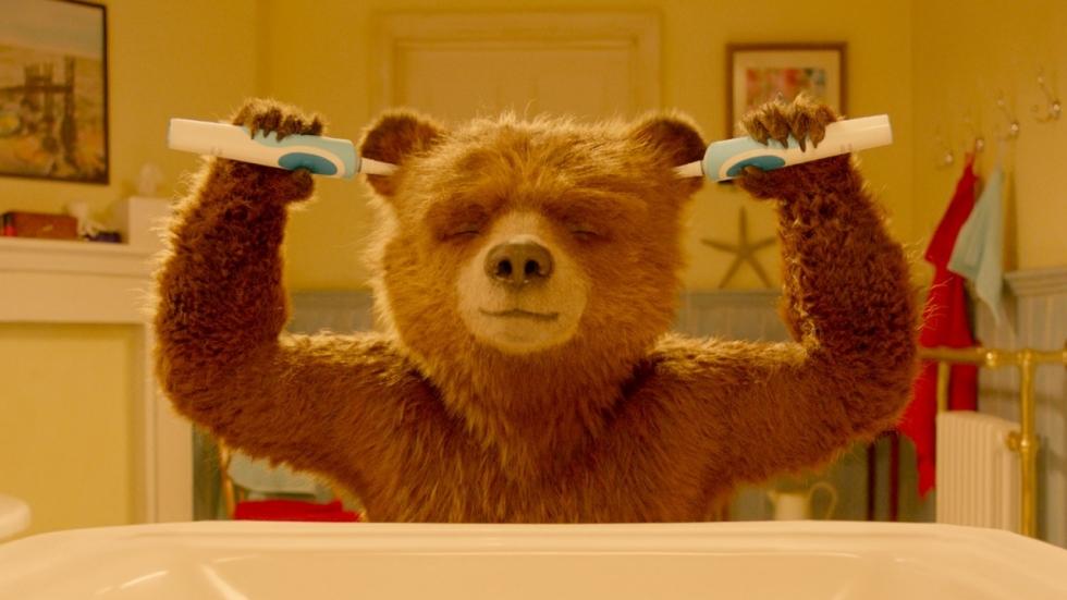 Ryan Reynolds heeft ruzie met beer Paddington