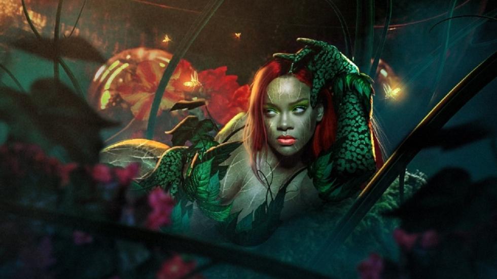 Rihanna als Poison Ivy en Michael B. Jordan als Superman!