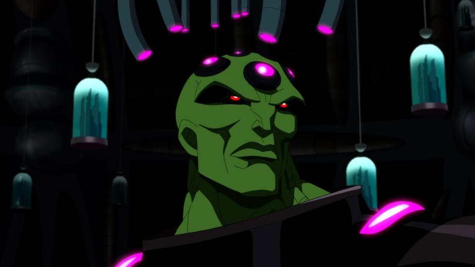 Supergirl neemt het mogelijk op tegen Brainiac