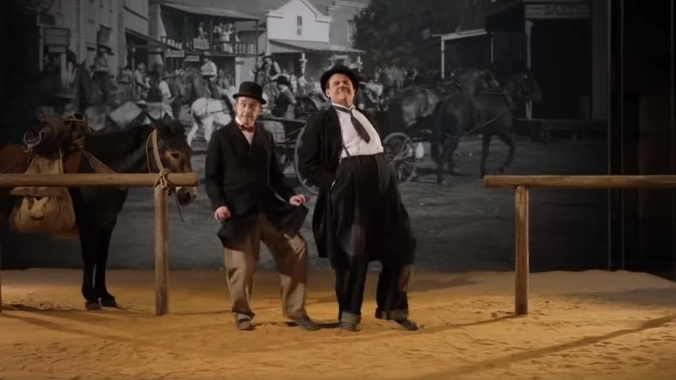 Eerste trailer Laurel & Hardy-film 'Stan & Ollie'!