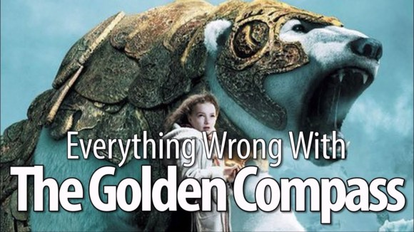 CinemaSins - Everything wrong with the golden compass in 14 minutes or less