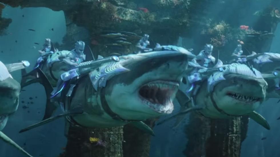 Nieuwe trailer 'Aquaman' toont grootse onderzee-oorlog