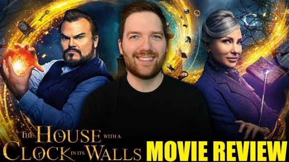 Chris Stuckmann - The house with a clock in its walls - movie review