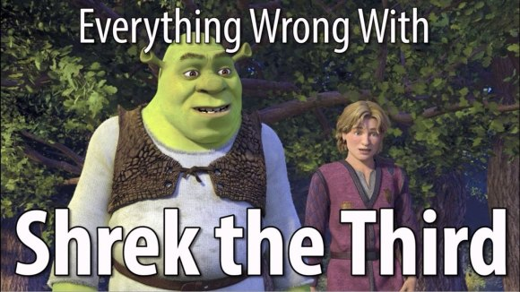 CinemaSins - Everything wrong with shrek the third in 16 minutes or less