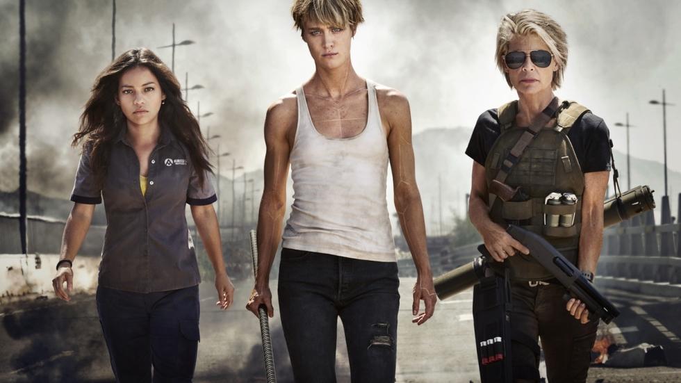 Arnold Schwarzenegger en Linda Hamilton herenigd op setfoto nieuwe 'Terminator'