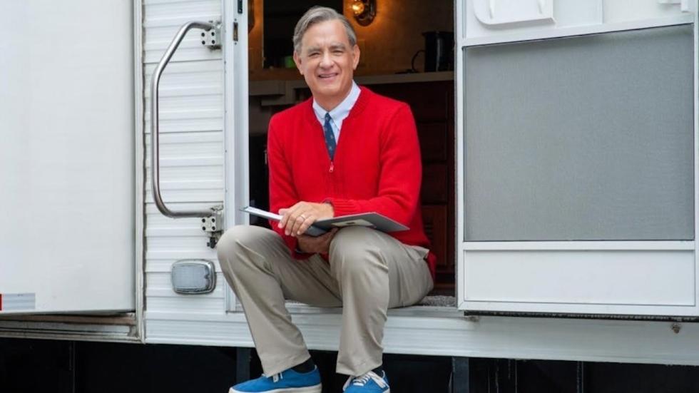 Eerste foto Tom Hanks als Mister Rogers in nieuwe biopic