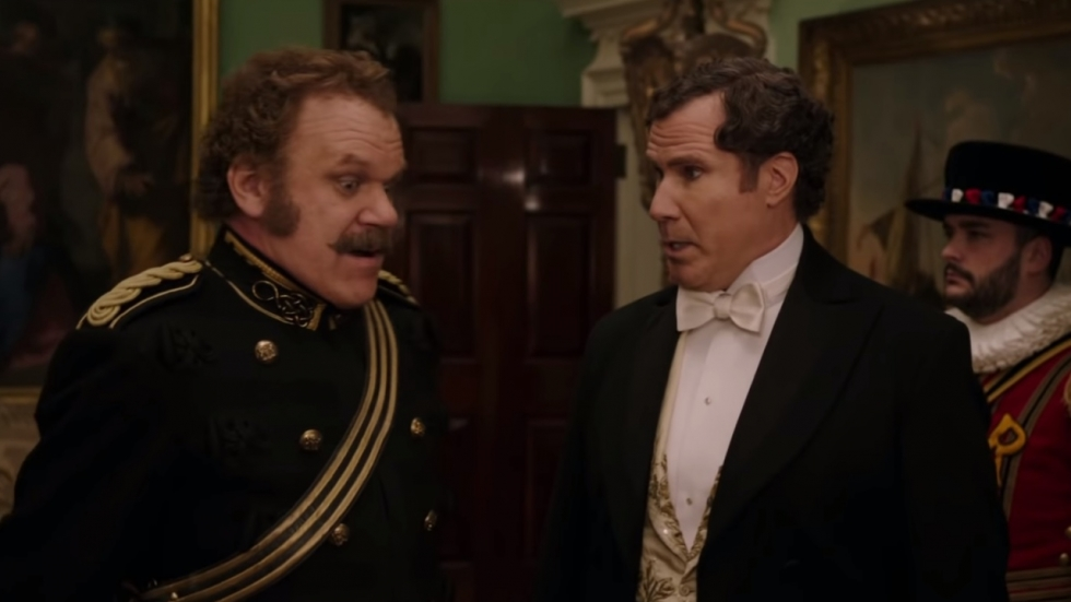 Trailer 'Holmes and Watson' met lolbroeken Ferrell/Reilly!