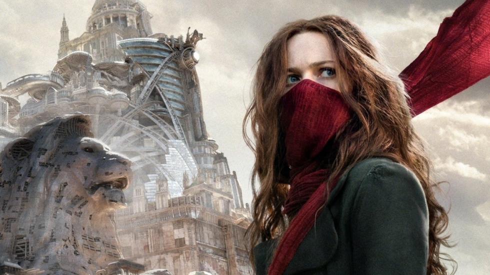 Beelden en poster 'Mortal Engines' van de makers van 'The Lord of the Rings' en 'The Hobbit'