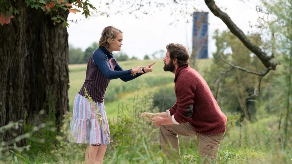 Blu-ray review 'A Quiet Place' - de horrorhit van 2018?