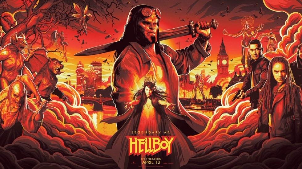 Poster 'Hellboy' onthult slechteriken en meer!
