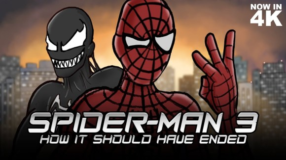 How It Should Have Ended - How spider-man 3 should have ended (remastered)