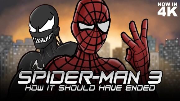 How It Should Have Ended - How spider-man 3 should have ended (remastered)