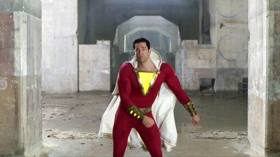 Volgende trailer 'Shazam!' onthult flitsender pak