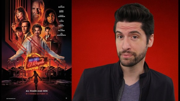 Jeremy Jahns - Bad times at the el royale - movie review